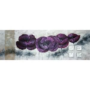 Tableau Peint Moderne by Tableau Fleur Fait Main Et Peint 224 L Huile