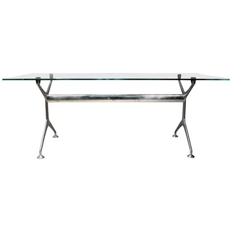 herman miller table base eames for herman miller glass top chrome base desk or