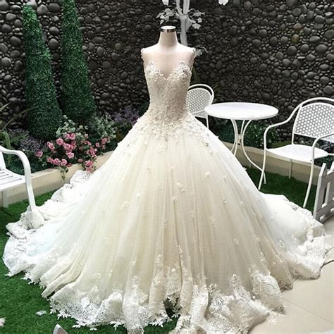 HD wallpapers plus size wedding dress with lace top