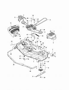 Husqvarna Model Rz5424  966659301 Lawn  Riding Mower Rear Engine Genuine Parts