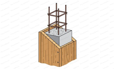 Pour concevoir votre armature dalle en béton, vous disposerez dans un premier temps les barres de fer (que vous aurez préalablement achetées) les unes perpendiculairement aux. Le coffrage de poteau - Travaux béton