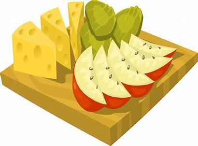 Snack Snacks Healthy Clipart Clip Cartoon Cliparts