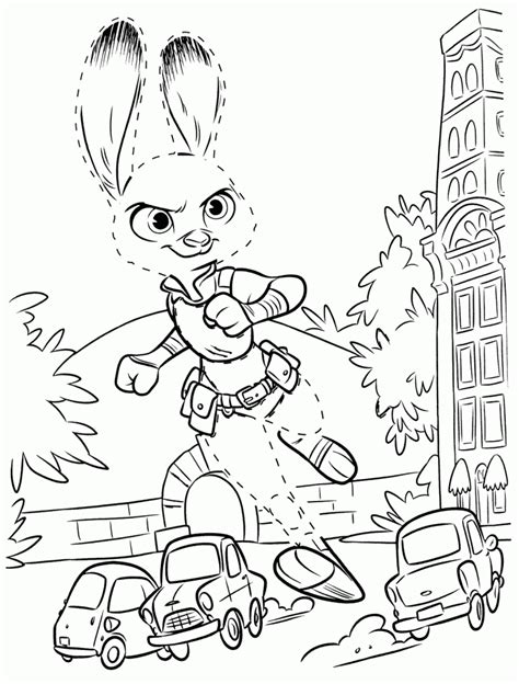 zootopia coloring pages best coloring pages for
