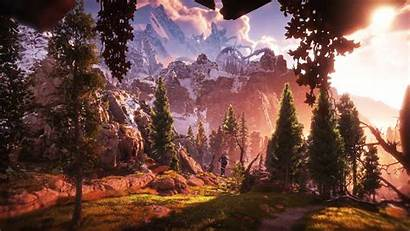 Horizon Dawn Zero Wallpapers Backgrounds Amazing 4k