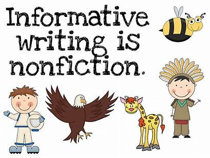 Informative Writing Informational Clipart Text Grade Expository