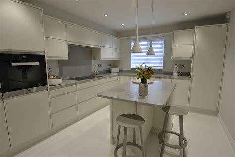Modern Corian Kitchen Transformation, Felixstowe, Suffolk