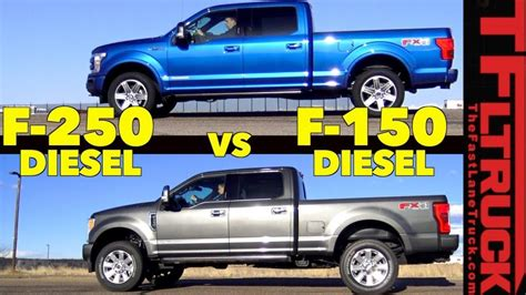 Which Power Stroke Diesel Is Quicker? 2018 Ford F150 Or