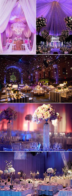 Luxury Indoor Wedding Concept With Beautiful Color Ideas