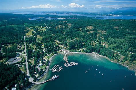 Boat House Quadra Island by Aerial View Of Quadra Island Credit Destination Bc Tom