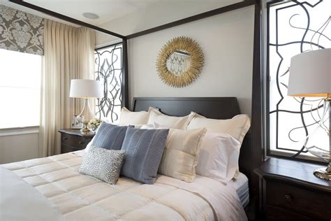 vibrant transitional family home bedroom robeson
