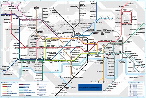 london underground map fotolip