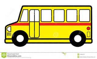 Cartoon School Bus Outline Clip Art