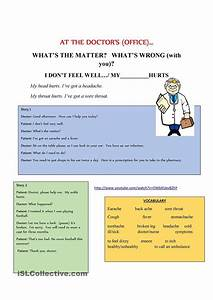 At the doctors role play | English Language, ESL, EFL ...
