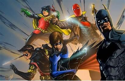 Gotham Knights 4k Wallpapers Batman Robin Nightwing
