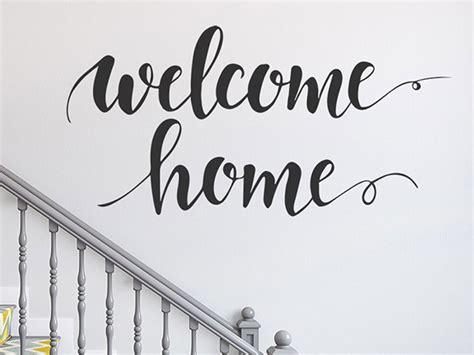 Wandtattoo Kinderzimmer Schriftzug by Wandtattoo Welcome Home Schriftzug Wandtattoos De
