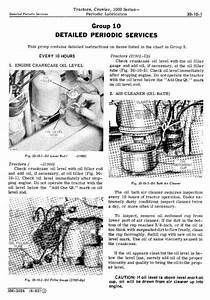 John Deere 1010 Crawler Tractors Technical Service Manual
