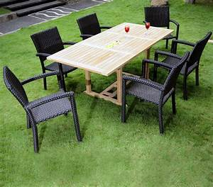 Stunning Table Jardin Teck Grade A Photos Awesome