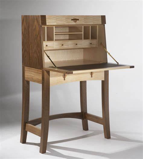 bureau large writing bureau in walnut maple makers 39 eye