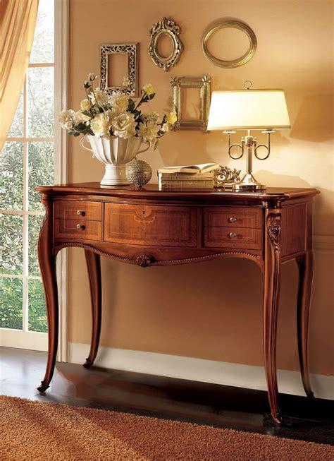 Consolle Ingresso Classiche - consolle in legno ideale per ambienti classici di lusso