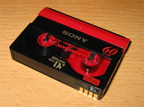 minidv cassette plik minidv cassette jpg wolna encyklopedia