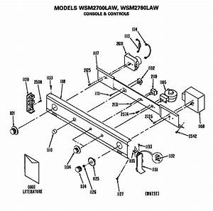 Ge Wsm2700law Laundry Center Parts