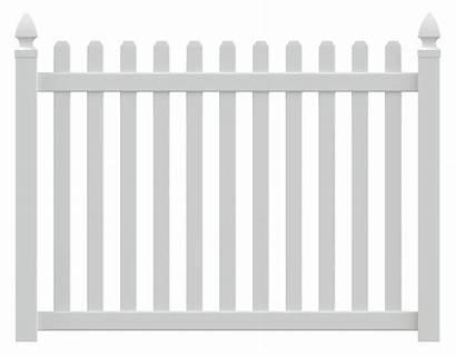 Fence Picket Columbia Vinyl Straight Clip