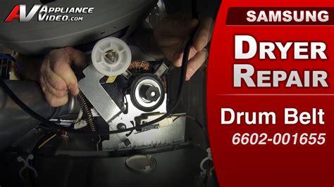 electric tankless water heater samsung dv422ewhdwr dryer not spinning drum belt