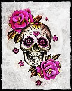 #skull and #roses #tattoo style | tattoos | Pinterest ...