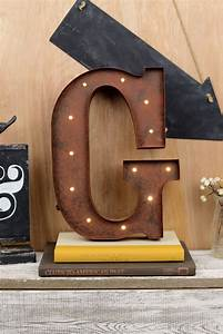 marquee letters g 12in battery operated 17 warm white led With marquee letter g