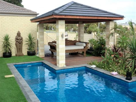 backyard pool landscaping backyard pools landscapes in quinns rocks wa home pools spas truelocal