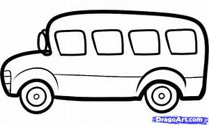 How to Draw a Bus for Kids  Step by Step  Cars For Kids  For Kids      Bus Drawing