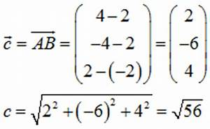 Vektor Länge Berechnen : geometrie algebra mathe abituraufgaben mit l sungen sachsen 1994 b2 a b ~ Themetempest.com Abrechnung