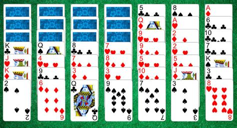 how to play solitaire scorpion solitaire