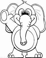 Elephant Coloring Circus Waving Elephants Printable Colouring Sheets Teaching Youth Through Tocolor Escolha Pasta Para sketch template