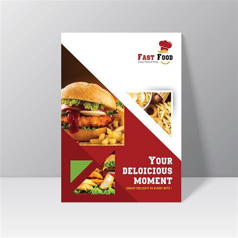 Every mockup is free, every mockups is easy to today i release free wrinkled poster mockup. Fast Food Flyer Design (Free Mock up Psd) on Behance