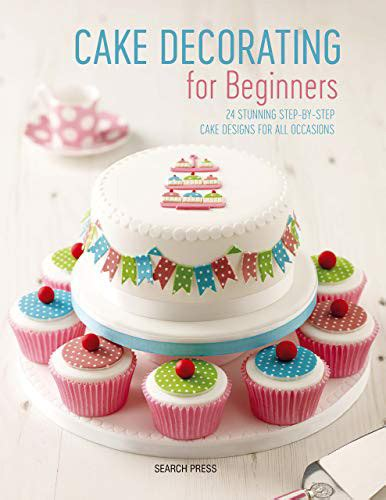book review cake decorating  beginners edible crafts