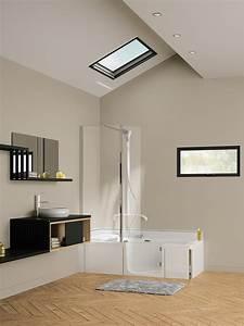 Duo Kinedo Baignoire Douche : baignoire douche duo kinedo induscabel salle de bains ~ Premium-room.com Idées de Décoration