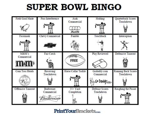 "Search Results For ""superbowl Bingo 2016""  Calendar 2015"