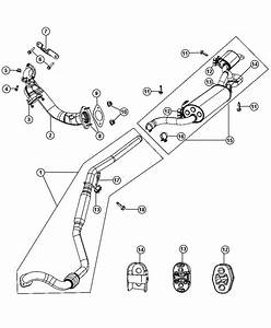 2010 Chrysler Town  U0026 Country Pipe  Exhaust Front