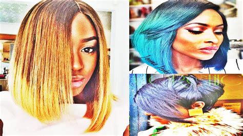 Really Awesome Straight Bob With Weave Hairstyles For
