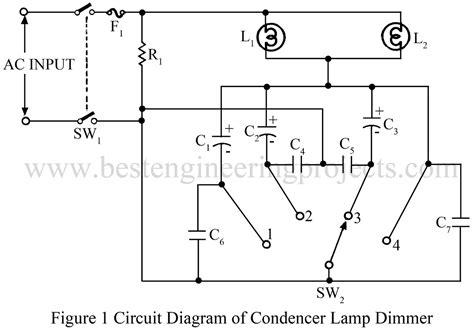 Lamp Dimmer Circuit Verified Electronic Project Best