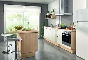 Cuisine Avec Ilot : ilot centrale petite cuisine cuisine avec ilot central ~ Melissatoandfro.com Idées de Décoration