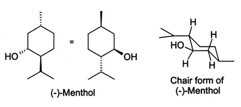 most stable chair conformation of menthol menthol wikip 233 dia