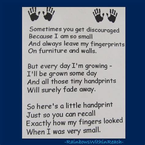 end of the year keepsakes rhymes drseussprojects 532 | Handprint Poem