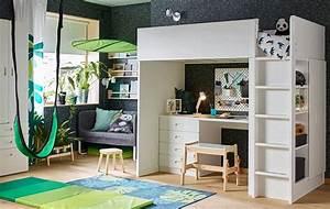 Ikea Stuva Hochbett : ikea stuva camas altas para ni os con escritorio y armario ~ Orissabook.com Haus und Dekorationen