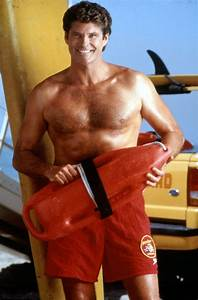 David Hasselhoff in Baywatch | Celebrity news | Pinterest ...