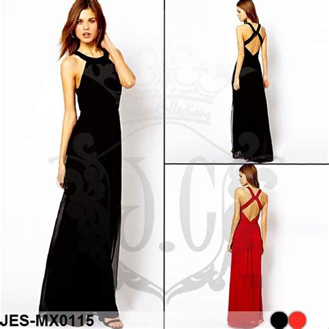 jual jes mx longdress maxi dress sexy import korea