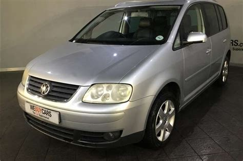 Vw Touran Verkaufsinserat by Vw Touran In South Africa Junk Mail