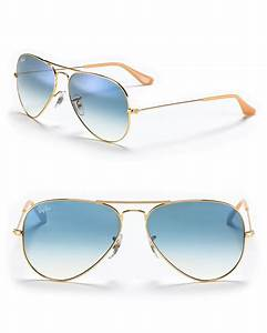 Ray-ban Classic Aviator Sunglasses in Blue for Men (Gold ...