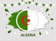 Brush Flag Algeria Vector Download Free Vector Art